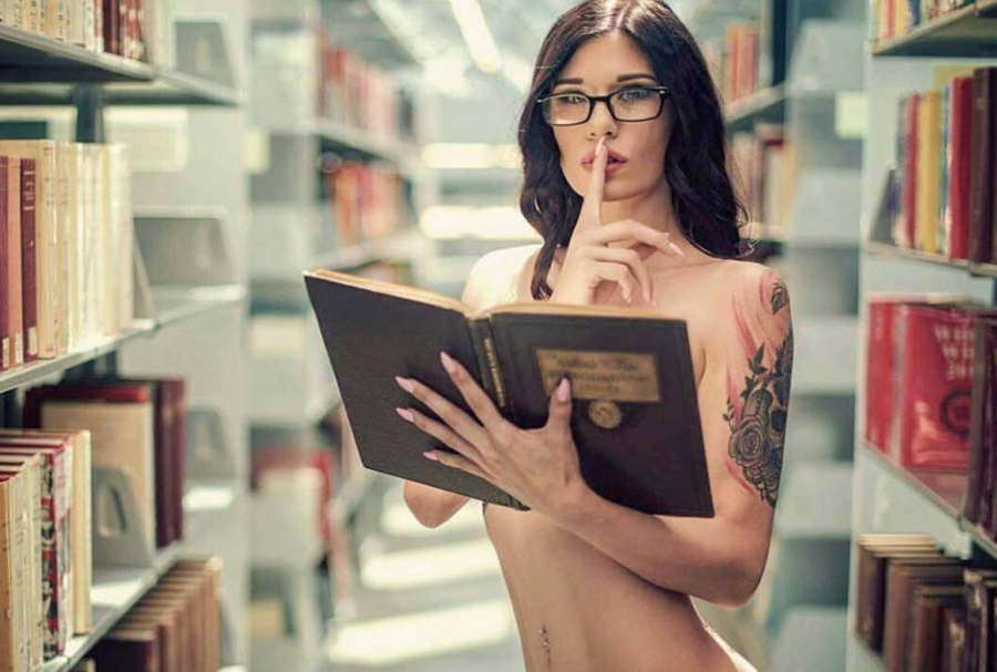 erotic library stories